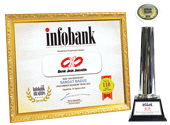 Titanium Trophy Infobank Awards 2016