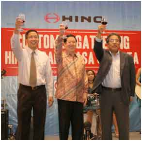 Bank Jasa Jakarta & Hino Customer Gathering Night
