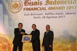 Bisnis Indonesia Financial Award 2017